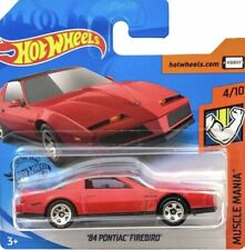 Hot Wheels 1/64 Pontiac Firebird de 1984  Serie Muscle Manía 2020