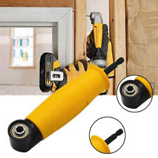 Right Angle Drill Attachment 90 Degree Electric Power Cordless Chuck Adapter