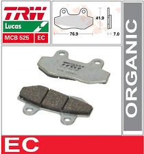2 Plaquettes frein Avant TRW Lucas  MCB525EC  SYM MF 180 03-
