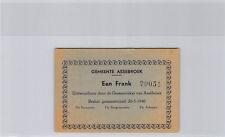 Belgique Commune d'Assebroek 1 Franc 20.5.1940 n° 20051