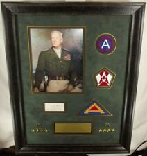 General George Patton Wwii Us Army Commander Autograph Display Jsa Authenticated