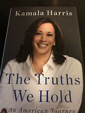 New ListingKamala Harris Hand Signed Third Edition The Truth We Hold Book Vice President