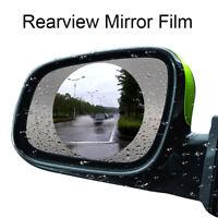 Specchietto Retrovisore Adesivo Pellicola Antipioggia Per Auto Rotondo 80mm