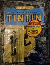Figurine Dupont fou blanc jeu d'échec Tintin N°3 (Hachette) + fascicule NEUF