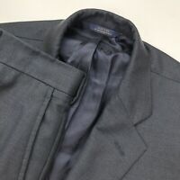 Brooks Brothers Men's Madison 1818 SaxXon Wool Suit Nailhead Blue • 45 R   40x28
