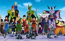 Poster A3 Dragon Ball Gohan Goku Vegeta Saiyan Celula Androide Android Cell