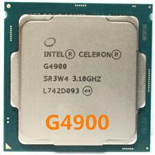 Intel Celeron G4900 CPU Dual-core 3.10Ghz 2M SR3W4 54W LGA 1151 Processor