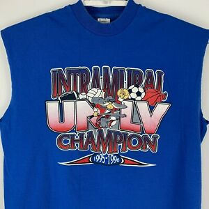 Vintage UNLV Intramural Champion Large T Shirt University NCAA Made in USA Tee