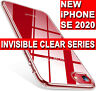 iPhone SE 2 2020 CLEAR Case Ultra Slim Shockproof Silicone Protective GEL Cover