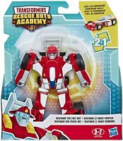 Transformers Rescate Bots Academia 2 IN 1 Robot Acción Figura - Heatwave Fire