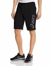 Asics Men's Casual Shorts 11 Inch Shorts  Genuine Logo Knit Beach Side Pocket S