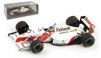 Spark S3980 Footwork FA12 #9 Monaco GP 1991 - Michele Alboreto 1/43 Scale
