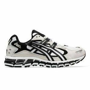 Asics Gel Kayano 5 360 White Black Mens 8 Athletic Running Shoes Sneakers