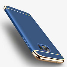 Blue [Rugged Armor] Shockproof Cover Slim TPU Case For Samsung Galaxy S7 edge