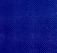 59 inch x 1 yard cotton 14 count cross stitch Royal blue fabric aida