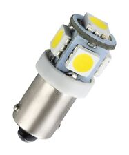 1 x ba9s piedistallo in metallo 5 SMD LED Illuminazione Interna Bianco