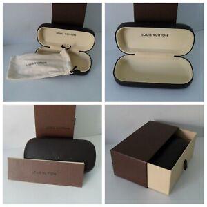 Louis Vuitton Sunglass Case With Box & Pouch -  Authentic Louis Vuitton Ex Cond.
