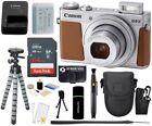 Canon PowerShot G9 X Mark II 20.1MP 1080p IS Digital Camera Silver + 64GB Bundle