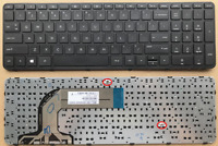 New Keyboard for HP Pavilion 17-E 17Z-E Laptop 720670-001 with Frame
