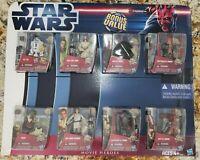 Star Wars The Clone Wars Movie Heroes Bonus Value 8 Figure Set Hasbro