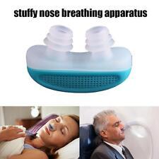 Silicone Anti Snore Nasal Dilators Apnea Aid Device Stop Snoring Nose Clip New