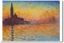Claude Monet - San Giorgio Maggiore at Dusk - NEW French Fine Art Print POSTER