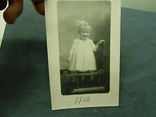 VINTAGE 1912 PRETTY LITTLE SMILING GIRL POSTCARD   NOT MAILED
