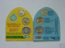 2007 minikit SAN MARIN 3 pièces 10 ct + 20 cts + 2 euro