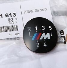 BMW Genuine M 5-Speed Gear Knob Badge Emblem E60 E39 E46 E36 E34 E30 25111221613