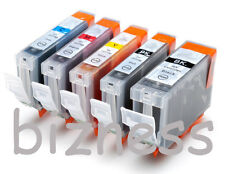 5 Ink Cartridges for CANON i865 iP4000 iP5000 MP780 +
