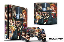 Skin Decal Wrap For PS4 Slim Playstation 4 SLIM Console + Controller Stickers MH