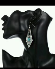 Turquoise Alloy Silver Plated Fashion Jewellery