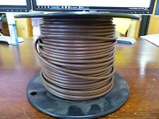UL1015  12awg  Brown  Stranded copper  TInned 600V  TEW     Approx 137ft