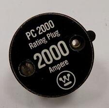 20PC2000 MOLDED CASE CIRCUIT BREAKER RATING PLUG - TYPE PC - 2000 AMP