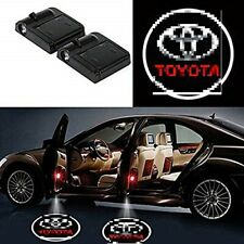 2Pc Wireless Car Door LED Logo Projector Ghost Shadow Puddle Light Fits Toyota
