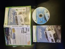 Need for Speed: Shift (Microsoft Xbox 360, 2009) COMPLETE FAST FREE SHIPPING