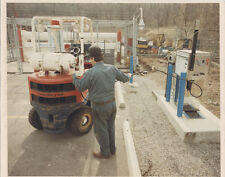 NATURAL GAS FILLING STATION, AND PIPELINE. DARKROOM C PRINTS. SET OF 13.