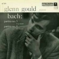 "GLENN GOULD ""BACH PARTITAS NOS. 5 & 6..."" CD NEW"