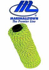 Marshalltown YELLOW FLECKED 500ft/152m Braided Brick/Bricklayer Mason Line ML613