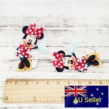 Plastic Flatback Planar Resin Embellishment -Minnie Mouse - 2 Pack - for DIY