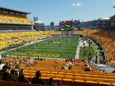 Baltimore Ravens @ Pittsburgh Steelers 4 tickets Thu. 11/26/20 Sec. 225, Row D