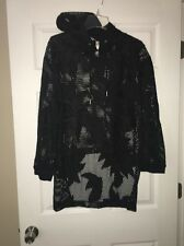 NWT Free People Movement Hoodie Black Size Large