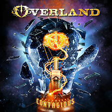 Overland - Contagious CD 2016 Steve Overland FM Melodic Rock