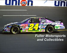 JEFF GORDON #24 BUGS BUNNY LOONEY TUNES CHEVY 2001 8X10 PHOTO NASCAR WINSTON CUP