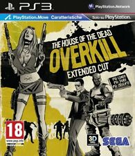The House Of The Dead Overkill [PS Move] PS3 Playstation 3 IT IMPORT HALIFAX