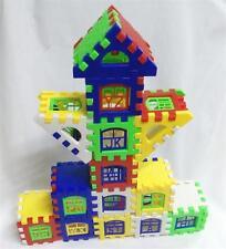 Kids Children Boys Girls House Building Basic Blocks Developmental Toy Set - 6A