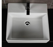 Lacava 5062-03-001 Aquamedia Wall-Mount Or Above-Counter Porcelain Lavatory