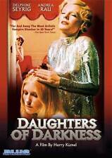 DAUGHTERS OF DARKNESS Movie POSTER 27x40 Delphine Seyrig John Karlen Daniele