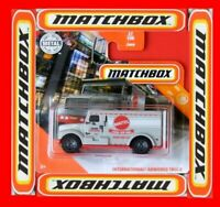 MATCHBOX 2020  INTERNATIONAL ARMORED TRUCK  27/100   NEU&OVP