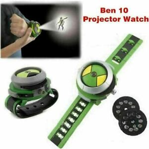 UKstock Ben10 Ten Alien Force Projector Watch Omnitrix Illumintator Bracelet Toy